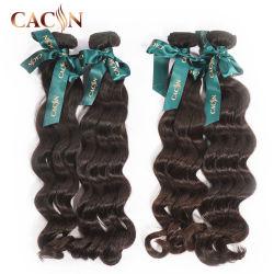 40 50 pouces Raw péruvien humides et des cheveux ondulés