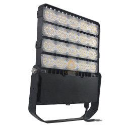 Wasserproof IP66 Aluminiumgehäuse mit Druckguss, 240 W, Hochleistungs-LED-Flutlichtanlage für Gebäudebeleuchtung im Garten Mit quadratischem Außenbereich Und Unstillem Parktunnel