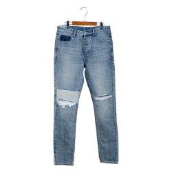 Джинсовые брюки 100% хлопка прямо повседневной жизни джинсы
