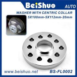 Adattatore di alluminio della rotella con il collare centrico per l'automobile