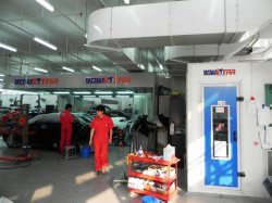 Sala di miscelazione industriale miglior verniciatura per uso automobilistico