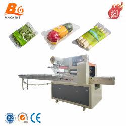 Flujo automático de la máquina de Embalaje Embalaje Envoltura Vegetal China