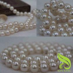 11-12mm Akoyaの真珠のネックレス(NA-0004)
