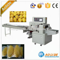 Het sami-automatische Fruit van de Fabriek ald-350X B/D van de Machine van de Verpakking van het Fruit
