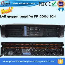 실험실 Gruppen Fp10000q 전력 증폭기 4 채널 15 인치 스피커