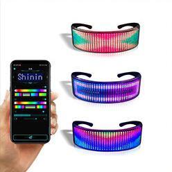 Vetri infiammanti di colore dell'OEM di incandescenza dell'indicatore luminoso doppio del partito LED