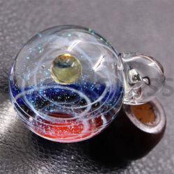 С другой стороны фантазия стеклянных красных вселенной звездное небо шарик Galaxy крюк очарование пульт управления для украшения ремесла, стекло и другие стороны, детей в подарок, оформление