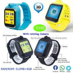 Android 3G Kids GPS Tracking Smart regarder avec 4G La mémoire d18s