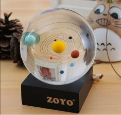 80mmの水晶太陽系の球およびホーム装飾のクリスタル・ボール