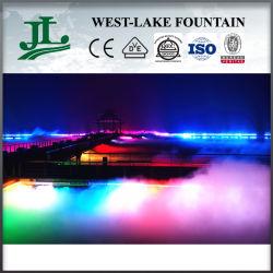 다채로운 Lights Artificial Fog 또는 The Lake에 Mist Fountain Floating