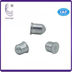 مسامير من فولاذ الكربون المخصصة غير القياسية، مسامير ومفاتيح مغلفنة، مثبتات لصناعة الماكينات