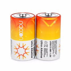 Non La taille de batterie rechargeable D Lr20 AM1 1.5V batterie principale