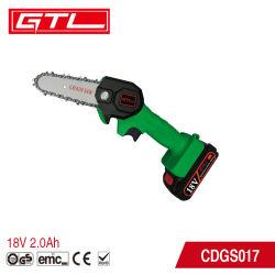 Tragbare 18V elektrische Kettensäge Lithium-Batterie Akku Akku wiederaufladbare Mini-Kette Säge für Holzschnitt mit Baumzweig
