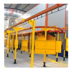 نظام طلاء المسحوق الآلي مع معدات المعالجة لإعادة المعالجة للمنتجات المعدنية