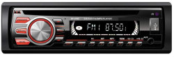 Lettore CD audio FM per auto con pannello rimovibile DIN singolo