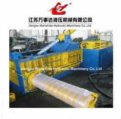 Prensa de enfardamento de metal de resíduos