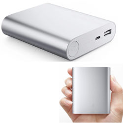 Hohe Capacity Metal Shell 8000 Milliamperestunde Compative Battery Mobile Power Bank für Samsung
