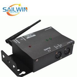 Contrôleur DMX512 sans fil 2.4G Amplificateur 2 canaux Mini haut-parleur