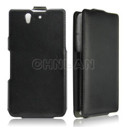 Couvercle de protection en cuir de luxe pour Sony Ericsson Xperia Z L36h