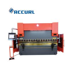 300X3200 CNC هيدروليكي بترادفي ضغط الفرامل ماكينة تحرير الصفائح المعدنية