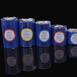 Impresora de papel Puty 110mm cinta de transferencia térmica de Cera, Cera/Resina, resina cinta utilizado para la etiqueta de 4 pulg.