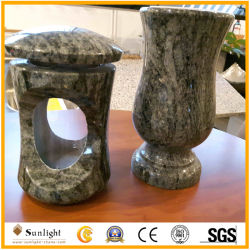 Гранитный памятник Headstone Tombstone камня вазы вазы для Headstones цветов