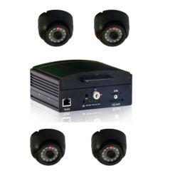 4CH HDD Mobile DVR Поддержка WiFi, 3G, GPS и карты памяти SD факультативного