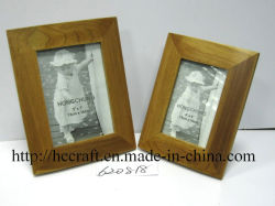 Decorationのための自然なWood Photo Frame