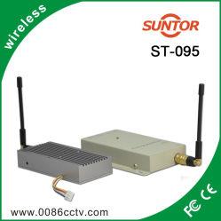 1,2Ghz 1000m Mini émetteur et récepteur AV sans fil