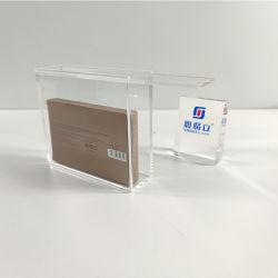 Yageli China Hersteller kundenspezifischer freier transparenter AcrylPokemon Spiel-Einkommen-Zusatzkasten mit dem Schieben der Kappen-Unterseite