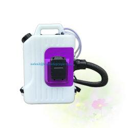 La mochila a pilas para la desinfección del ventilador de niebla