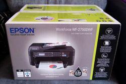 Novíssimo WF-2750 todos sem fio em uma impressora, copiadora Scanner Fax Tintas+