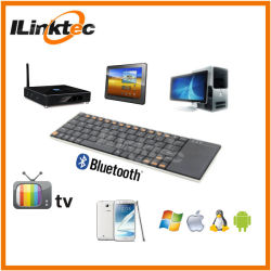 Qwerty мини Bluetooth клавиатура с сенсорной панелью для Android телевизор .