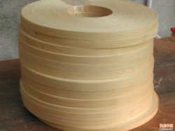 端Banding Veneerロールスロイス1mm、2mm、Furnitureのための3mm Birch Wood Veneer Edgebanding