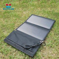 Resistente al agua portátil 15W Cargador Panel Solar para portátiles.