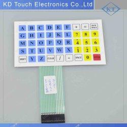 Non-Tactile мембранной клавиатуры в разъем Nicomatic