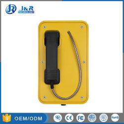 Aucun couvercle résistant aux intempéries SIP Téléphones Industriels Outdoor VoIP Téléphones d'urgence