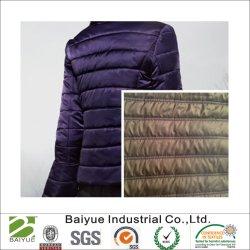 최신 판매 누비질 직물 또는 겨울 재킷 물자