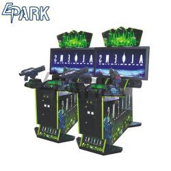 Videospiel bearbeitet Schießen-Säulengang-Spiel-Maschinen-Innenunterhaltungs-Spiel-Maschine maschinell