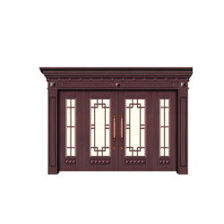Les portes en acier avec tableau de taille non standard