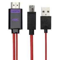 스마트폰 비디오 어댑터 Micro 11핀 4K MHL - HDTV 케이블
