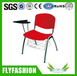Formação de Mobiliário escolar de plástico barato cadeira com mesa de escrita (SF-25F)
