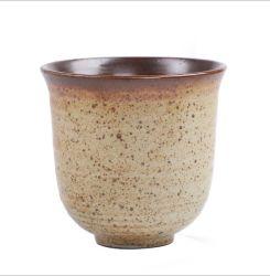 يثبت يعلن هبات عادة علامة تجاريّة صاف لون كابوتشينو شام قهوة [لتّ] [200مل] [تا كب] خزفيّ مع طبق مسطّح ومقبض