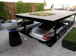 Onzichtbare Schisor Car Lift ondergrondse Schisors Car Lift Double-Layer Parking Lift ondergrondse Garage apparatuur onzichtbare oplossing voor Villa