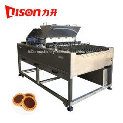 Marcação preço de fábrica de chocolate ou compota de frutos biscoito depositante certificando a máquina