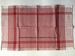 Fábrica de China la producción de algodón de Jacquard Comprobar personalizada alfombrilla de la placa de paño de cocina