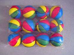 Commerce de gros jouet Squishy 6.3cm Mousse de PU Souligner Ballon de basket-ball
