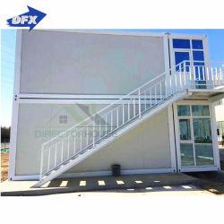 Portátil de prefabricados de acero el envío de la construcción de la casa de un paquete plano sofá