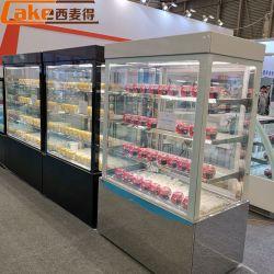 Bolo refrigerados frigorífico utilizado Bakery Exibir casos para venda