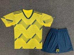 La Colombie Soccer Jersey en 2019-2020 Home Soccer de l'usure
